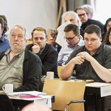 Die Debatte war zwischendrin erkennbar konfliktbeladen. | Foto: Arne Pöhnert