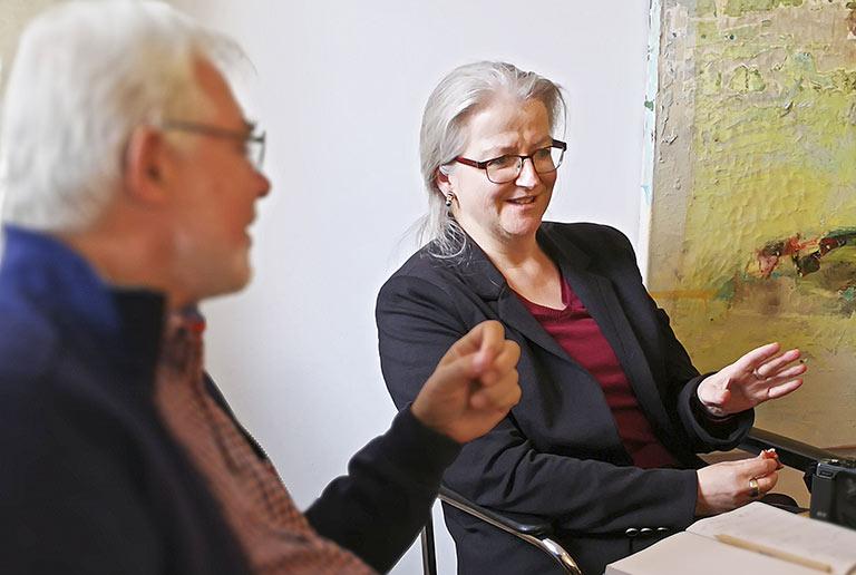 Betreut seit Ende der 1990er Jahre als feste Freie die Redaktion des JOURNALS: Corinna Blümel. | Foto: Carmen Molitor