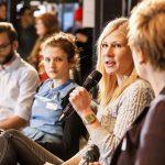 Auftaktforum mit Florian Gregorzyk, Sophie Burkhardt, Marie Illner und Andrea Hansen. | Foto: Udo Geisler