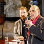 Begrüßung durch Frank Stach (r.) und Volkmar Kah. | Foto: Udo Geisler