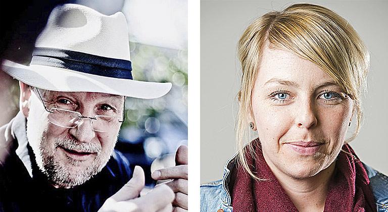 Hartmut Schneider und Julia Rathcke. | Fotos: Michal Nierycz, privat
