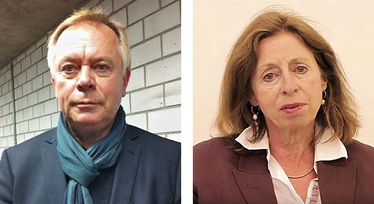 Manfred Höffken und Sabine Rollberg. | Fotos: privat, Screenshot Youtube MSocialInnovation