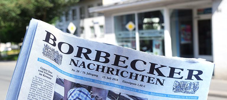 Die Borbecker Nachrichten waren einst die auflagenstärkste lokale Kauf-Wochenzeitung. | Foto: Pascal Hesse