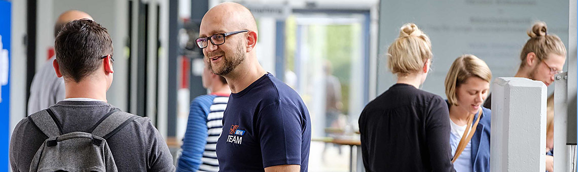 Gute Laune und nutzwertiges Wissen prägten #durchstarten18, die Veranstaltung des DJV-NRW für den Journalistennachwuchs. | Foto: Alexander Schneider