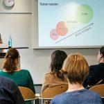 Mirko Lorenz gab eine Einführung in Datenjournalismus. | Foto: Alexander Schneider