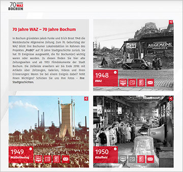 70 Jahren WAZ | Screenshot