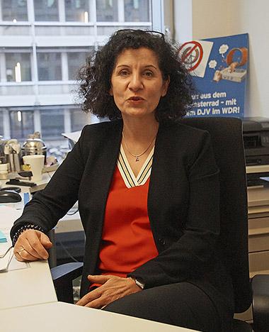 Martina Welchering ist freigestellte Personalrätin beim WDR. | Foto: Angelika Staub