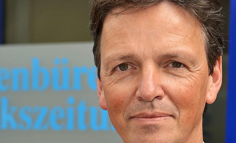 Klaus Rieping ist Geschäftsführer der Ibbenbürener Volkszeitung. | Foto: Daniel Luens