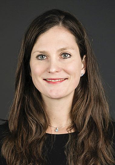 Aline Fichtner von NewsGuard Deutschland. | Foto: Michael Heck/Zeit Online