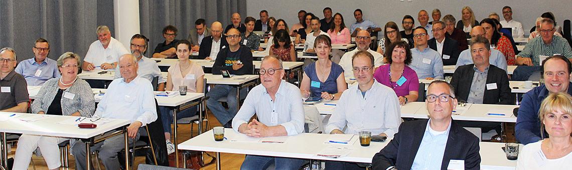 Gut gefüllte Reihen beim Medientreff 2019 in Gelsenkirchen. | Foto: Philipp Kania