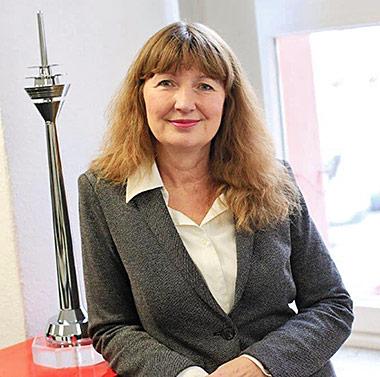 Ingrid Herden ist Sprecherin der Landeshauptstadt. | Foto: Stadt Düsseldorf / Ingo Lammert