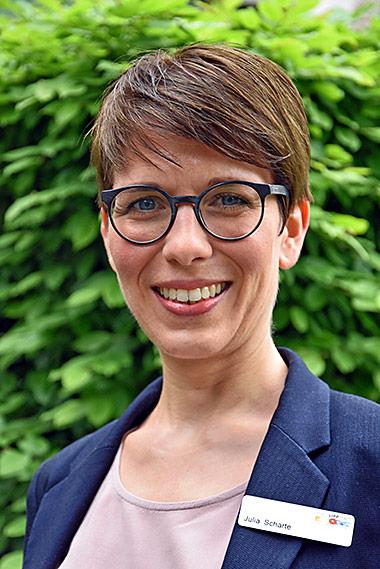 Ansprachpartnerin für Presse und Bürgerschaft ist Julia Scharte in Lippstadt. | Foto: Miriam Schleifer