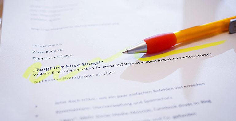 Bloggen mit WordPress gehört zu den Dauerbrennern im Seminarangebot des DJV-NRW. | Foto: DJV-NRW/Udo Geisler
