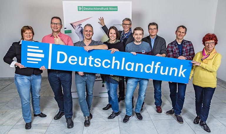 Die Liste DJV & Freunde beim Deutschlandradio am Standort Köln. | Foto: Thomas Kujawinski