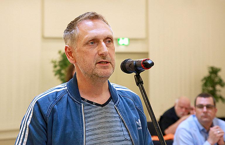 Kristian van Bentem kümmert sich als Betriebsrat um die Arbeitsbedingungen der Kolleginnen und Kollegen. Foto: Anja Cord