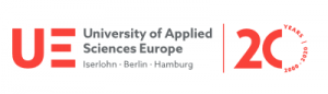 Logo der University of Allied Sciences Europe.