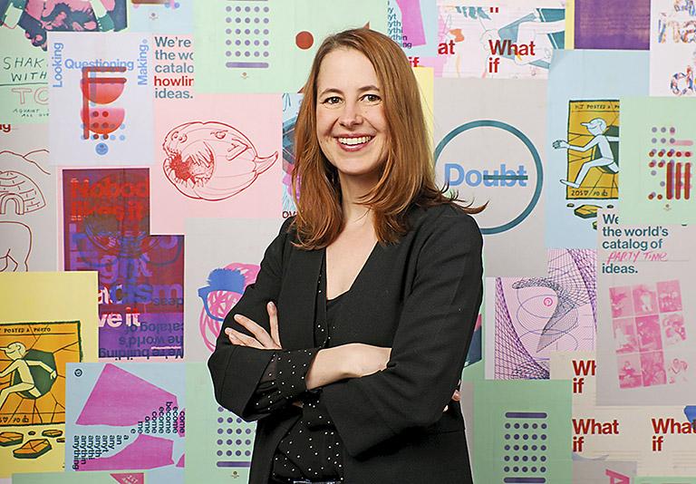 Jana Würfel, Pinterest Head of Growth Operations DACH bei Pinterest | Foto: Roger Kisby/Getty Images for Pinterest