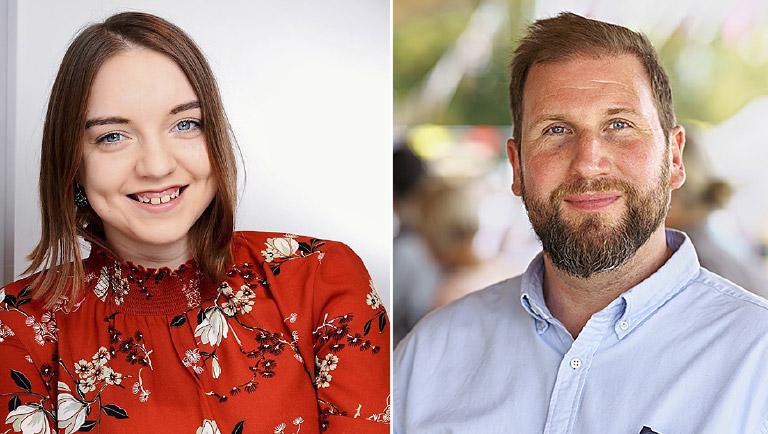 Marie Kirschstein und Volkmar Kah | Fots: privat, Alexander Schneider