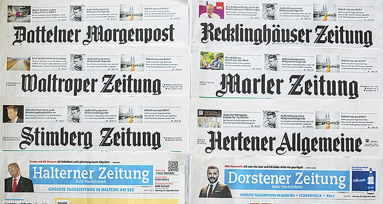 Jetzt eine Familie: Die sechs Titel aus dem Bauer Verlag erscheinen jetzt bei Lensing-Media. | Foto: Markus Mucha